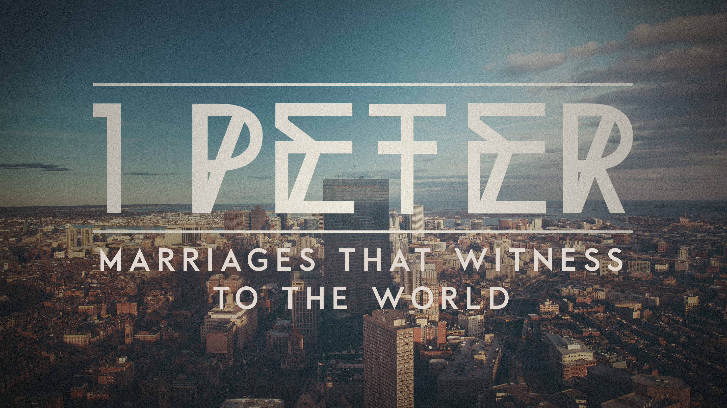 Marriages That Witness to the World