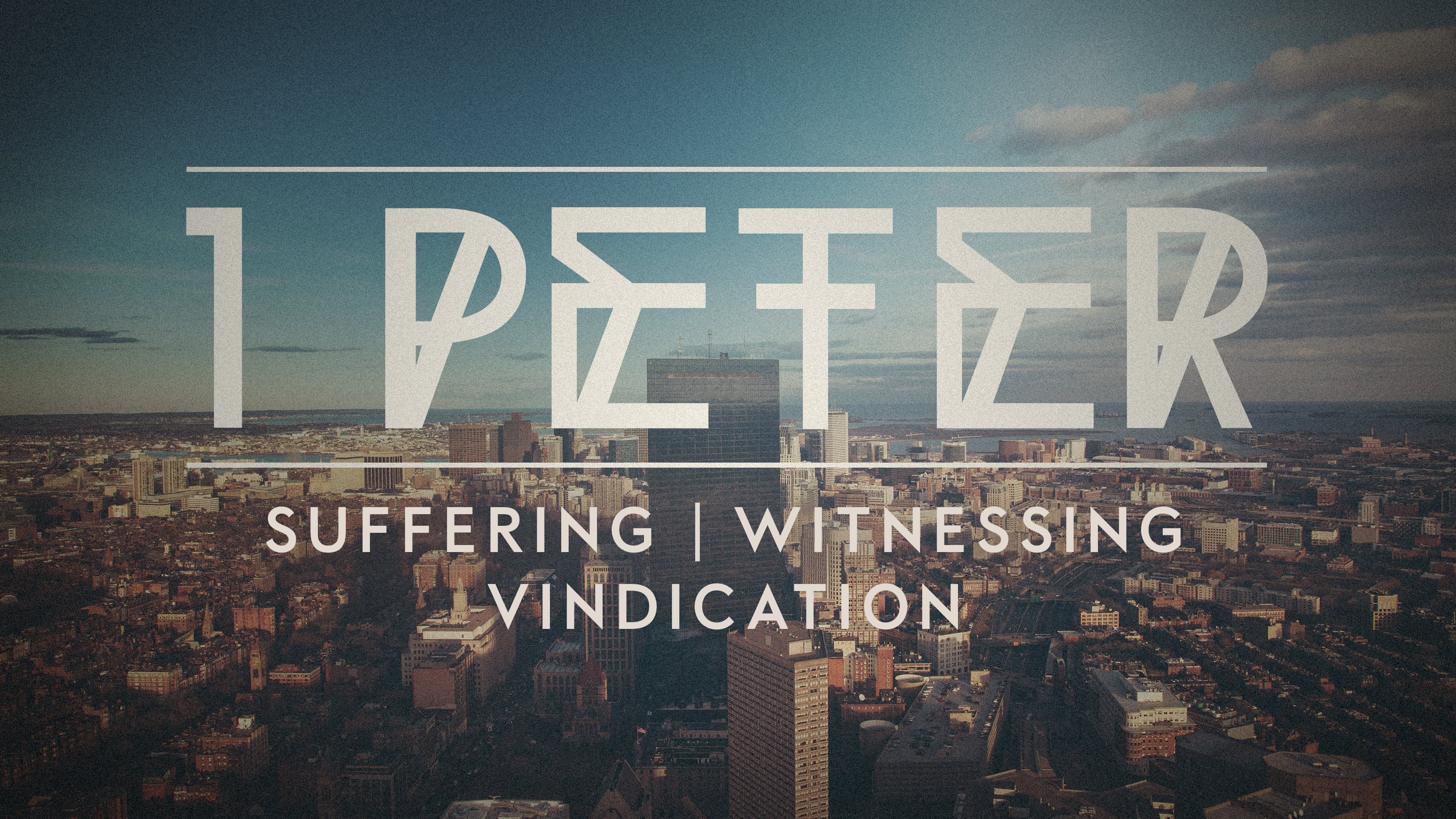 Suffering | Witnessing | Vindication