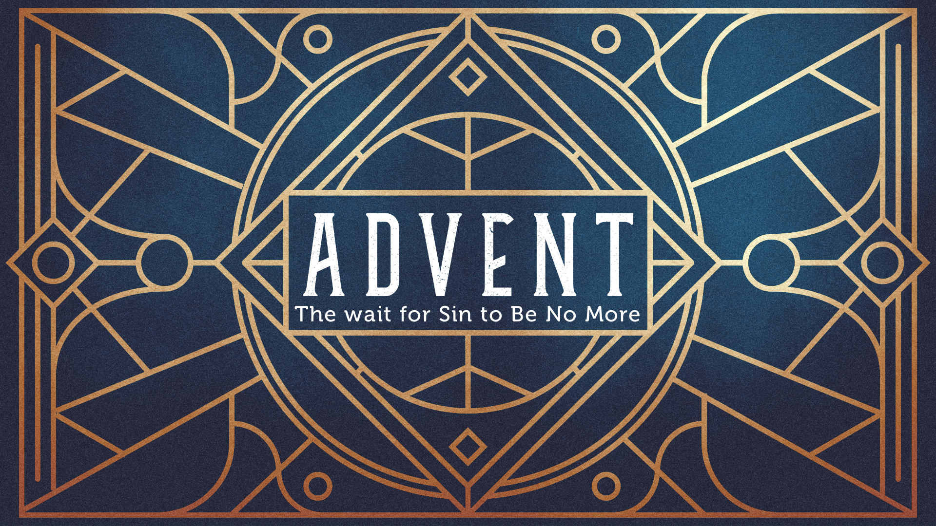 The Wait for Sin To Be No More
